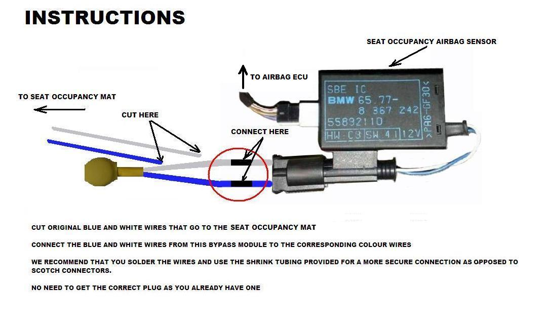 E46 Airbag Wiring Diagram : E wiring seat diagram get free image about